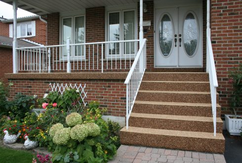 Sierra Stone - Porch and stairs