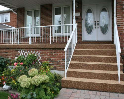 Sierra Stone – Porch and stairs